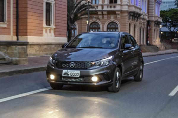 Argo, um dos carros Fiat mais vendidos em 2019