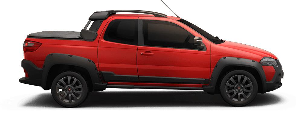 Strada, um dos carros Fiat mais vendidos em 2019