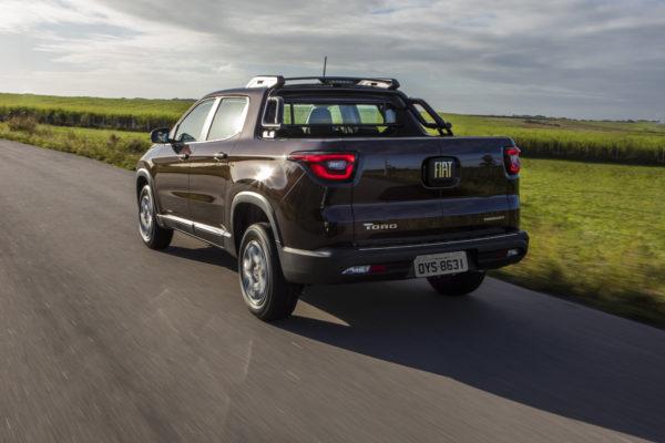 Toro, um dos carros Fiat mais vendidos em 2019