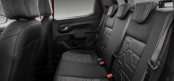 Interior Fiat Strada 2021