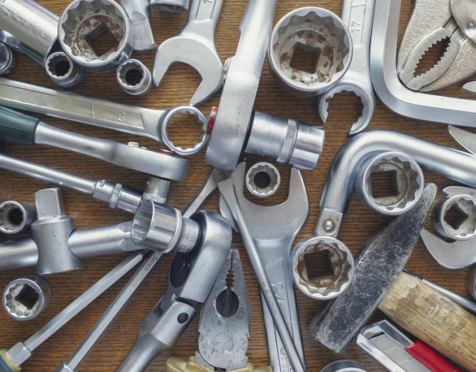 ferramentas para carro